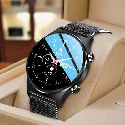 AU59.99 • Buy Bluetooth 5.0 Smart Watch Mens Fitness GPS Tracker Sport Watch For IOS Android