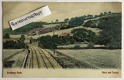 £5 • Buy Vintage Postcard. Bradway Bank. Dore And Totley, Sheffield In South Yorkshire.