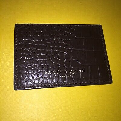 £5 • Buy Bailey & Quinn Card Holder Brown Leather