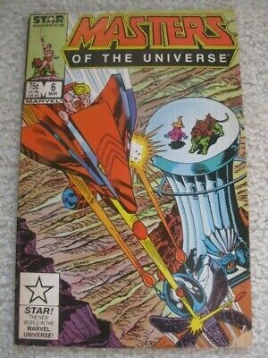 $30 • Buy He-Man Masters Of The Universe #6 Comic (Marvel/Star) (1987) Fair/Good Condition