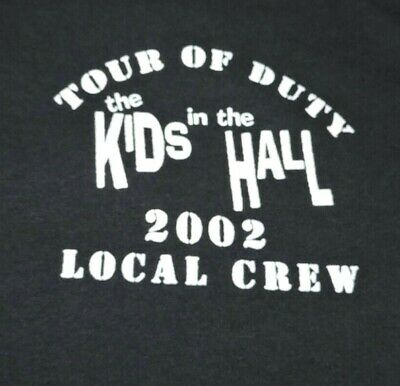 $ CDN18.88 • Buy THE KIDS IN THE HALL Tour Of Duty 2002 Local Crew T Shirt Vintage 50/50