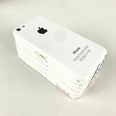 $ CDN1.57 • Buy Lot Of 12 Apple IPhone 5C A1532 - White - IC Locked - Defect - Damaged