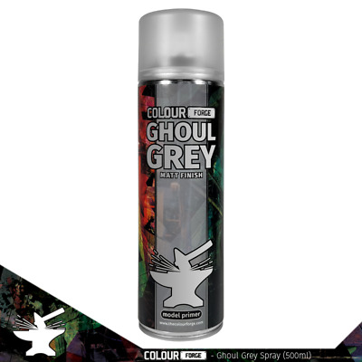 £10 • Buy Colour Forge Ghoul Grey Miniature Spray Paint(500ml)