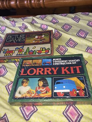 £4.99 • Buy Vintage Biggi Lorry Kit ,kids Picture Games Cannot See Any On EBay Or Google