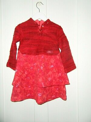 £4 • Buy Marese Girls Winter Dress Age 3A