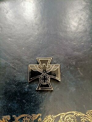 £5 • Buy German Army Soldier Iron Cross Eagle Badge Pin Collectable Emblem Insignia