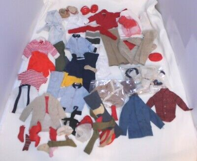 $ CDN12.58 • Buy Vintage Barbie KEN Lot Of Clothing With Some Accessories
