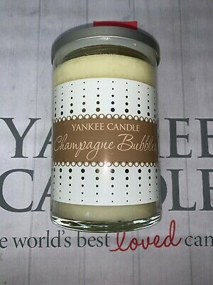 £19.89 • Buy Yankee Candle Champagne Bubbles Large 2 Wick Tumbler Jar - Retired