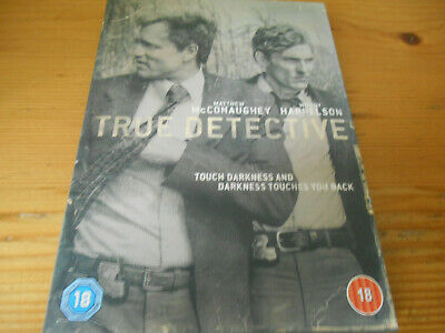 £3.95 • Buy True Detective 3 Disc Set - 'Touch Darkness And Darkness Touches You Back'