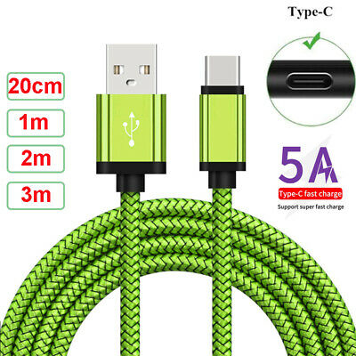 AU8.99 • Buy USB C Type C Fast Charging Charger Cable Data Cord For Samsung Galaxy S8 S9 A71