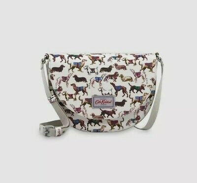 £19.99 • Buy *New Cath Kidston Saddle Bag With Dog Pattern Sketchbook Dogs*