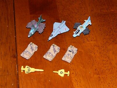 £2.88 • Buy Vintage Kenner Micro Mega Force Lot - Military Planes, Missiles, Launchers