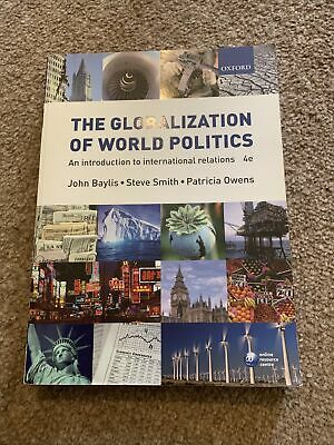£0.99 • Buy The Globalization Of World Politics: An Introduction To International Relations