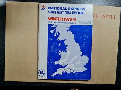 £1.99 • Buy South West Transport Bus Timetable Booklet Route National Express 1975 B1.5.28