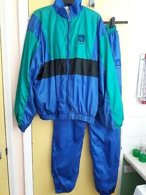 £27 • Buy Vintage Shell Suit Jacket And Trousers Size M