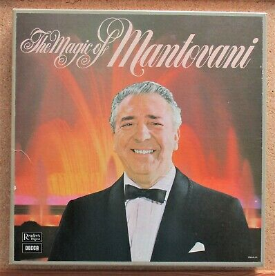 £2.49 • Buy The Magic Of Mantovani 7 Records Reader's Digest VG+