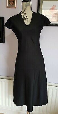 AU3.36 • Buy Partytime Black Smart Casual Work Party Dress Size 10