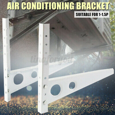 £32.79 • Buy Wall Mount Air Conditioner Central Galvanized Support Bracket Holder Rack