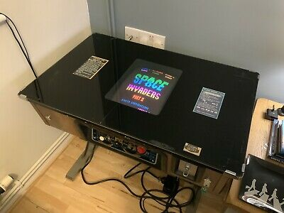 £475 • Buy Taito Space Invaders  Cocktail Table Rare Usa Table Working In Good Condition