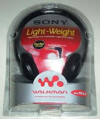 £7.49 • Buy Sony Light Weight Stereo Headphones MDR-101LP