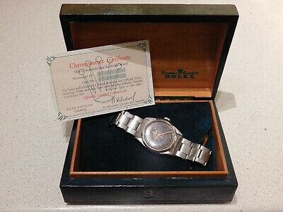 $ CDN8655.54 • Buy Rolex Vintage Explorer 6610 Gents Wristwatch With Box And Certificate. 1960.