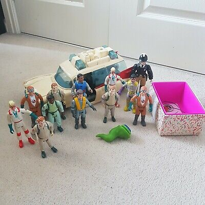 £35 • Buy Vintage The Real Ghostbusters Action Figure Bundle Ecto-1 Parts Spares