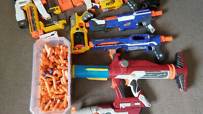 AU50 • Buy Nerf Guns, Mixed Set Of Blasters, Magazines And Darts Including Some Rare Items