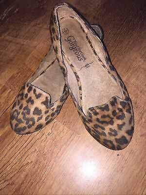 £0.99 • Buy Leopard Pint Shoes Size 4 By New Look
