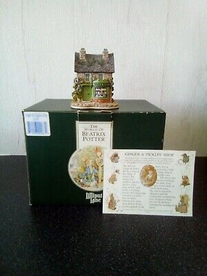 £34.50 • Buy Lilliput Lane...Ginger And Pickle's Shop...with Box And Deeds.