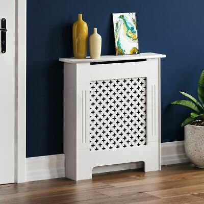 £26.95 • Buy SALE Oxford Radiator Cover Small White Traditional Grill Heat Guard Cover