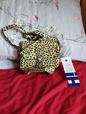 £1.80 • Buy BNWT Henry Holland Yellow Leopard/Cheetah Print Small Over Shoulder Bag