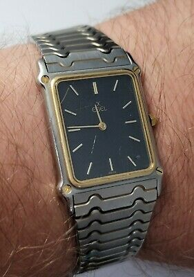 £450 • Buy Ebel Wave Gold And Stainless Steel Watch Boxed