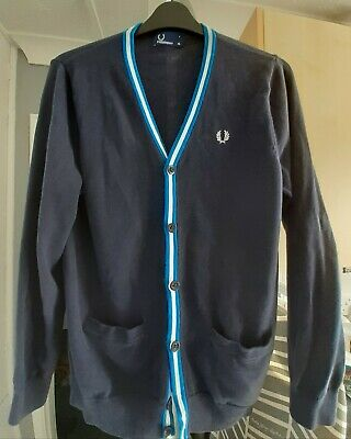 £5 • Buy Fred Perry Cardigan,small Adult,skinhead,skingirl,mod