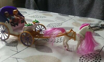 £10 • Buy Playmobil Royal Couple. Horse And Carriage