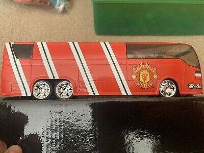 £12 • Buy Rare Manchester United Team Bus Toy Figure Approx. 15 Cm Long
