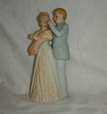 $ CDN13.83 • Buy Porcelain Figurine Mother Baby Father