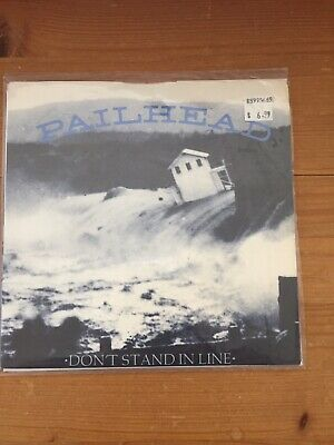 """£12.95 • Buy PAILHEAD Don't Stand In Line 7"""" Rare Fugazi Ministry Industrial"""
