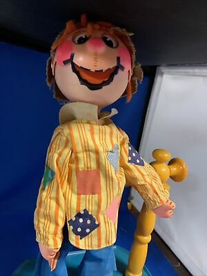 £42.93 • Buy 1973 Mattel Scarecrow Puppet Wizard Of Oz Vintage Rare Toy Mouth Moves Hand Move