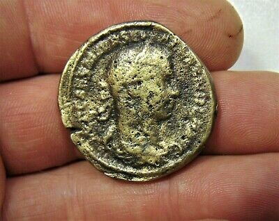 £6.99 • Buy Unknown Large Size Roman Bronze Coin Sestertius