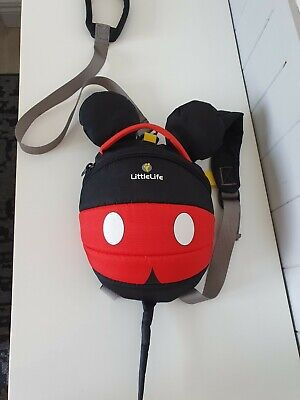 £4.50 • Buy Little Life Backpack Reins / Harness. Mickey Mouse. Used Once