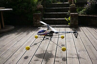 £250 • Buy Trex 450 Sport Flybared RC Helicopter With Spectrum DX7s Transmitter