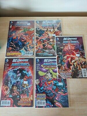 $31.23 • Buy DC Vs. Masters Of The Universe Comic Lot #1, 3-6 First Print NM