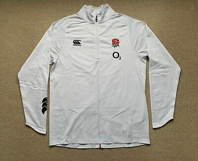£24.99 • Buy England Rugby O2 1/4 Zip Mid Layer Training Top (Size Large)