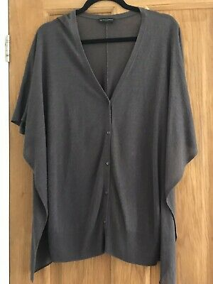 £14.99 • Buy Ladies The White Company Cardigan Top Linen Viscose Blend Brown Size Large VGC