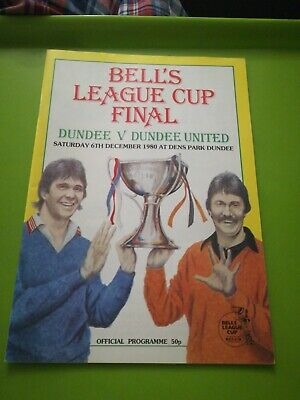 £1.50 • Buy Scottish League Cup Final Football Programme. Dundee Utd V Dundee. 6.12.1980