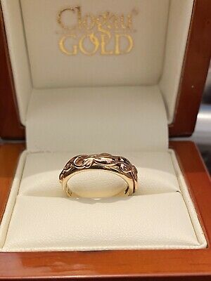 £235 • Buy Clogau Welsh 9ct Rose & Yellow Gold Tree Of Life Ring