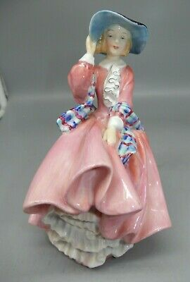 $ CDN44.06 • Buy ROYAL DOULTON Top O' The Hill Porcelain Lady Figurine Red/pink Dress