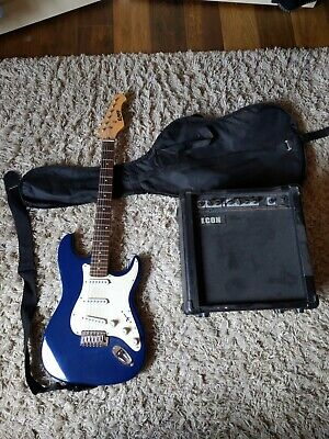 AU50 • Buy Electric Guitar + Case With Amplifier