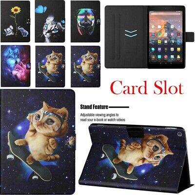 AU12.58 • Buy For Amazon Kindle Paperwhite Fire 7 HD 8 10 Case Cover Folio Smart PU Leather