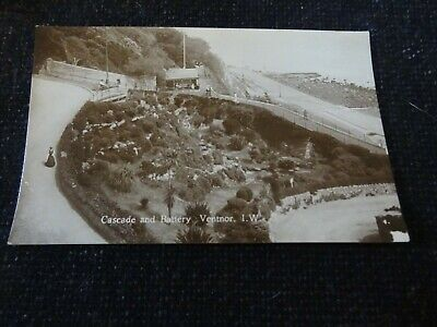 £4 • Buy Cascade And Battery Ventnor Isle Of Wight Postcard - 43373